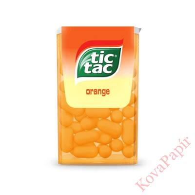 Cukordrazsé TIC TAC Orange 49g
