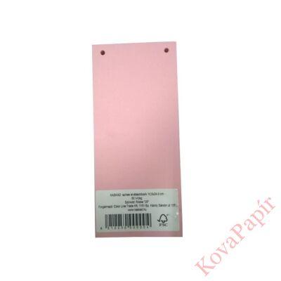 Elválasztócsík KASKAD 105x240mm 160 gr 25 rózsaszín 50 db/csomag