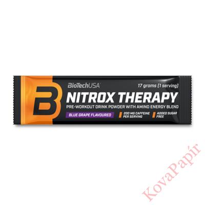 Edzés előtti formula BioTechUSA Nitrox Therapy áfonya 17 g