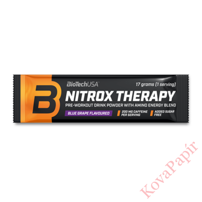 Edzés előtti formula BioTechUSA Nitrox Therapy barack 17 g