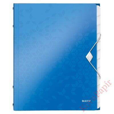 Előrendező LEITZ Wow A/4 12 részes kék