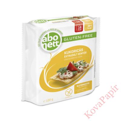 Extrudált kenyér ABONETT gluténmentes kukoricás 100g
