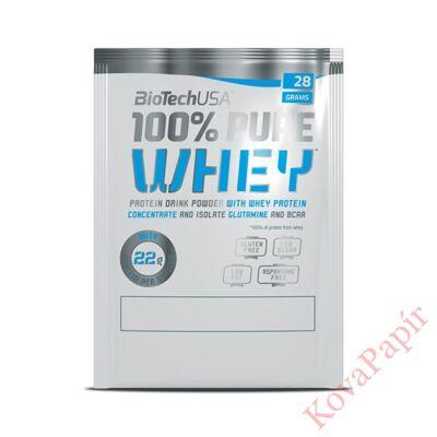 Fehérje BIOTECHUSA 100% Pure Whey Bourbon-Vanília 28 g