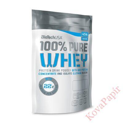 Fehérje BIOTECHUSA 100% Pure Whey Bourbon-Vanília 454 g