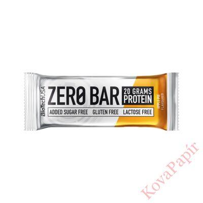 Fehérje BIOTECHUSA Zero Bar Almás pite 50 g