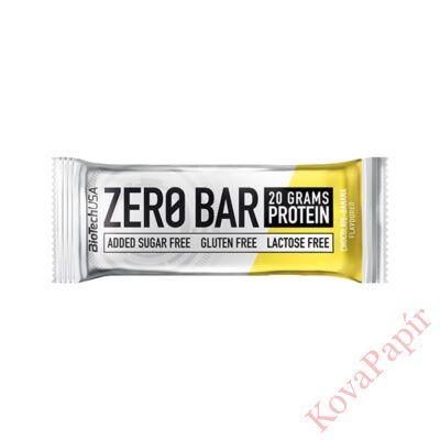 Fehérje BIOTECHUSA Zero Bar Csoki-Banán 50 g