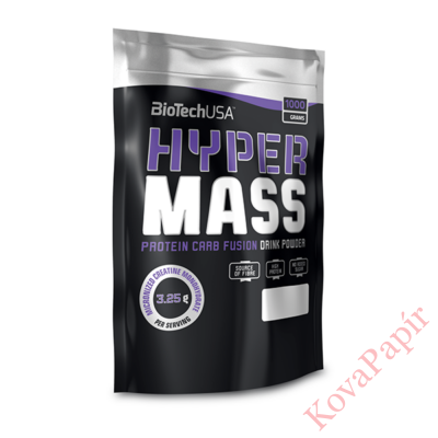 Fehérje komplex BioTechUSA Hyper Mass csokoládé 1000 g
