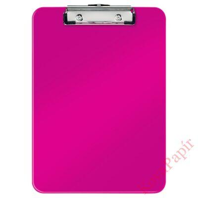 Felírótábla LEITZ Wow A/4 kemény műanyag rózsaszín