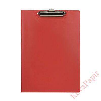 Felírótábla OPTIMA A/4 fedeles PP piros