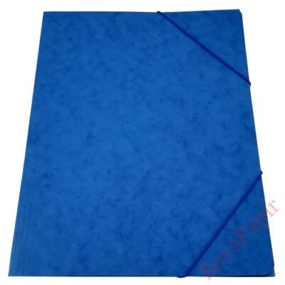 Gumis mappa prespán kék 345gr