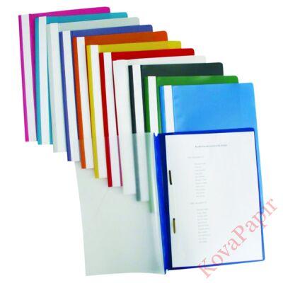 Gyorsfűző ESSELTE Standard Vivida műanyag fehér