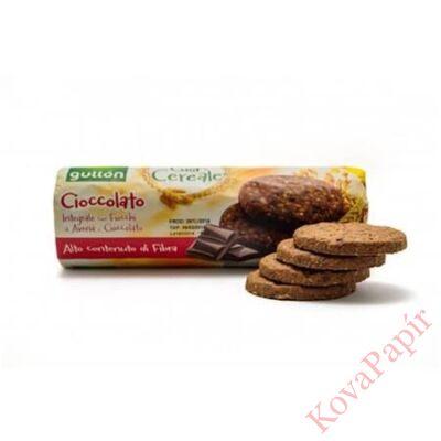 Gabonakeksz GULLON élelmi rostban gazdag csokoládéval 280g