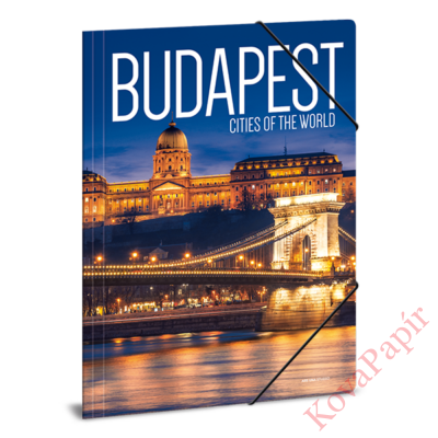 Gumis mappa ARS UNA A/4 Budapest 1 Cities Of The World
