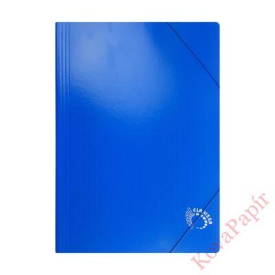 Gumis mappa CLARISSA A/4 papír 320 gr kék