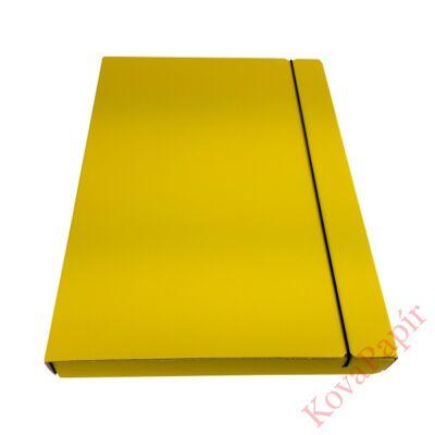 Gumis mappa FORTUNA 30 mm sárga