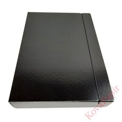 Gumis mappa FORTUNA 50 mm fekete