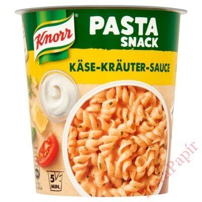Instant tészta KNORR Snack Sajtos-zöldfűszeres szósz 65g