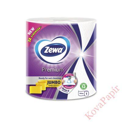 Kéztörlő tekercses háztartási ZEWA Premium Jumbo 3 rétegű 1 tekercses 230 lap