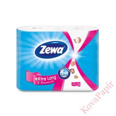 Kéztörlő tekercses háztartási ZEWA Premium Extra Long 2 rétegű 2 tekercses 70 lap