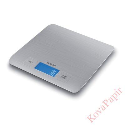 Konyhai mérleg SENCOR SKS 5400 5 kg szürke
