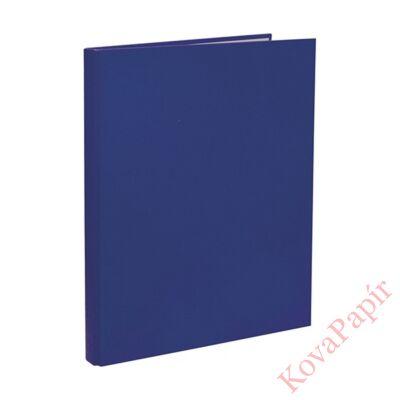 Mappa villámzáras OPTIMA A/4 karton kék