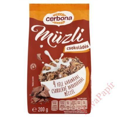 Müzli CERBONA csokis 200g