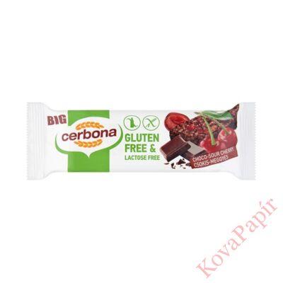 Müzliszelet CERBONA gluténmentes meggyes-csokoládés 35g