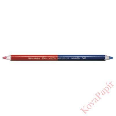 Postairón KOH-I-NOOR 3423 hatszögletű vastag piros-kék