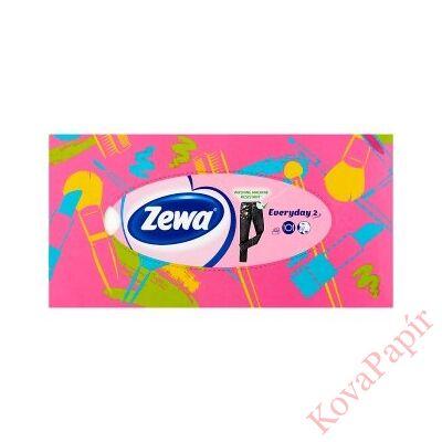 Papírzsebkendő ZEWA Everyday 2 rétegű 100db-os dobozos