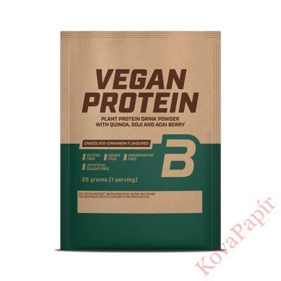 Protein Vegán BIOTECHUSA csoki-fahéj 25 g