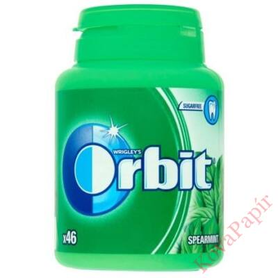Rágógumi ORBIT Spearmint 64g