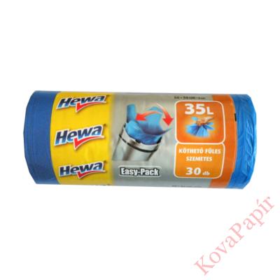 Szemeteszsák HEWA Easy-Pack  köthető füles 35 l 30 db