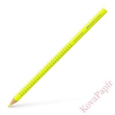 Színes ceruza FABER-CASTELL Grip 2001 háromszögletű neon sárga