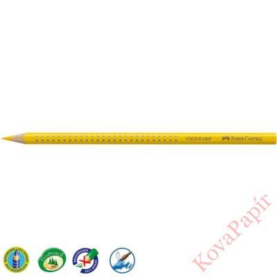 Színes ceruza FABER-CASTELL Grip 2001 háromszögletű sárga