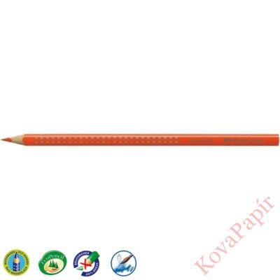 Színes ceruza FABER-CASTELL Grip 2001 háromszögletű sötét narancssárga