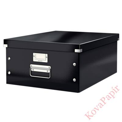 Tároló doboz LEITZ Click&Store A/3 fekete