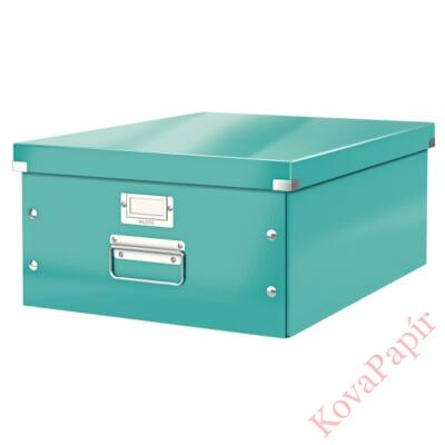 Tároló doboz LEITZ Click&Store A/3 jégkék
