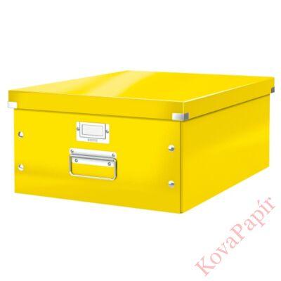 Tároló doboz LEITZ Click&Store A/3 sárga