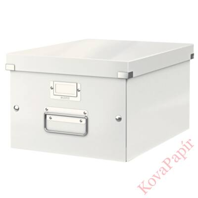 Tároló doboz LEITZ Click&Store A/4 fehér