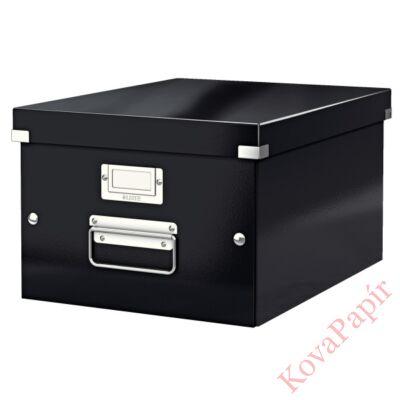Tároló doboz LEITZ Click&Store A/4 fekete