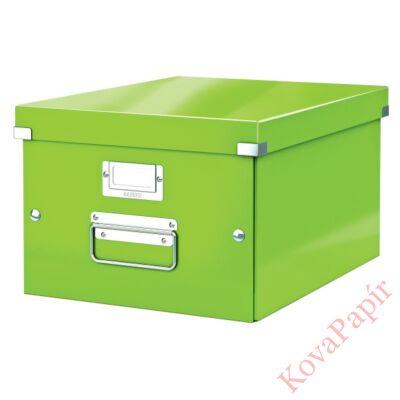 Tároló doboz LEITZ Click&Store A/4 zöld