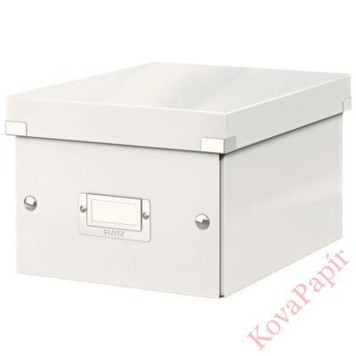 Tároló doboz LEITZ Click&Store A/5 fehér