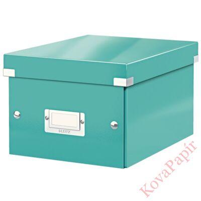 Tároló doboz LEITZ Click&Store A/5 jégkék