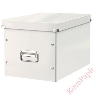 Tároló doboz LEITZ Click&Store L méret kocka fehér