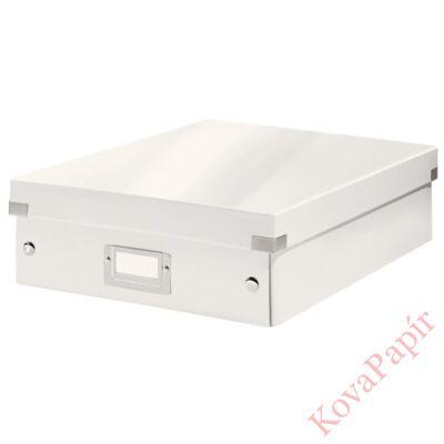 Tároló doboz LEITZ Click&Store rendszerező M méret fehér