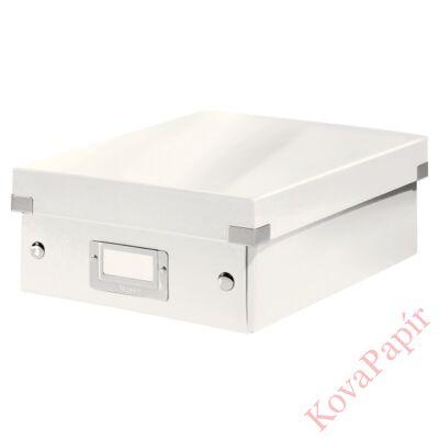 Tároló doboz LEITZ Click&Store rendszerező S méret fehér