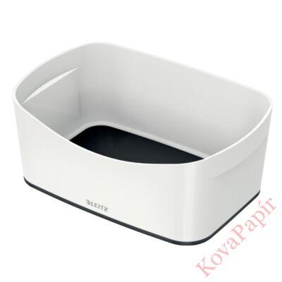 Tároló doboz LEITZ Wow Mybox műanyag fehér/fekete