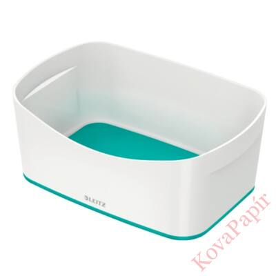 Tároló doboz LEITZ Wow Mybox műanyag fehér/jégkék