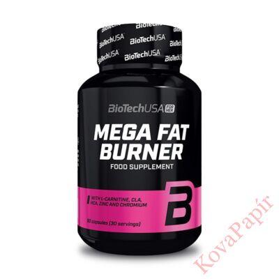 Testsúly-kontroll formulák BIOTECHUSA Mega Fat Burner 90 db