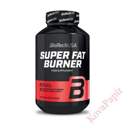 Testsúly-kontroll formulák BIOTECHUSA Super Fat Burner 120 db
